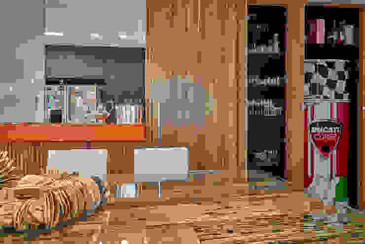 Isabela Canaan Arquitetos e Associados Salle à manger moderne