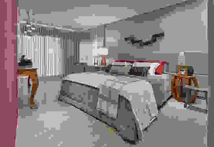 Apartamento ME Quartos modernos por Isabela Canaan Arquitetos e Associados Moderno