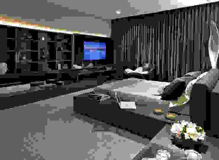 Casa Cor Minas - Quarto da Jovem Designer Quartos modernos por Bellini Arquitetura e Design Moderno