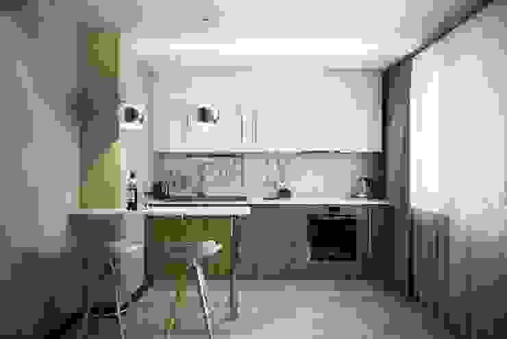 Cocinas de estilo  por Дизайн студия Алёны Чекалиной,