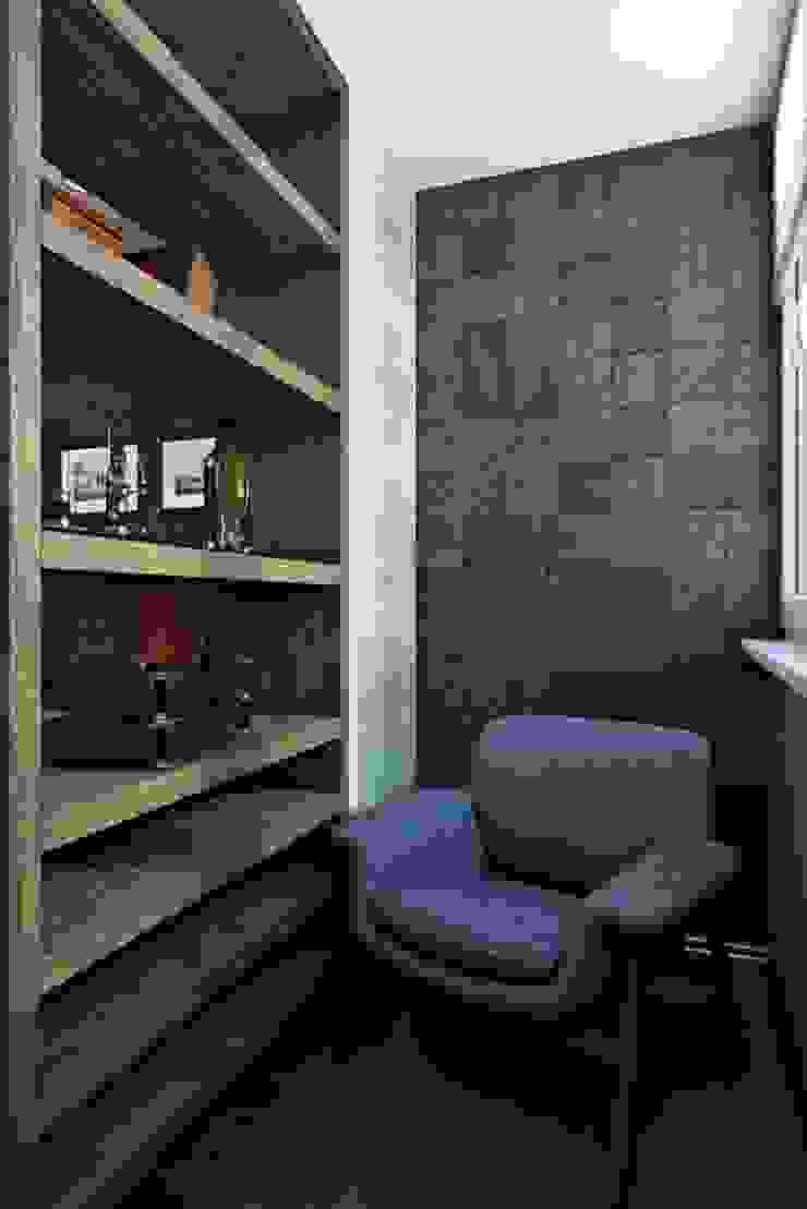 КРАСКИ ЖИЗНИ Рабочий кабинет в стиле модерн от Дизайн студия Алёны Чекалиной Модерн
