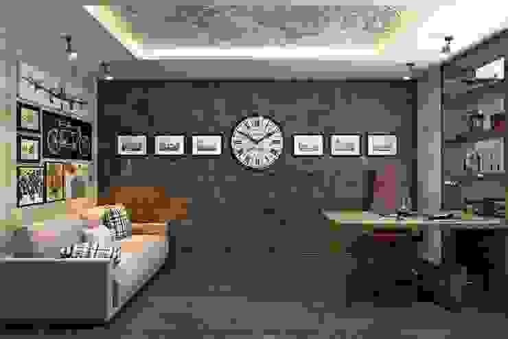 Modern style study/office by Дизайн студия Алёны Чекалиной Modern