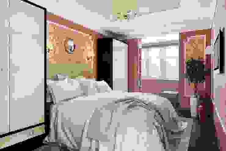 Chambre moderne par Дизайн студия Алёны Чекалиной Moderne