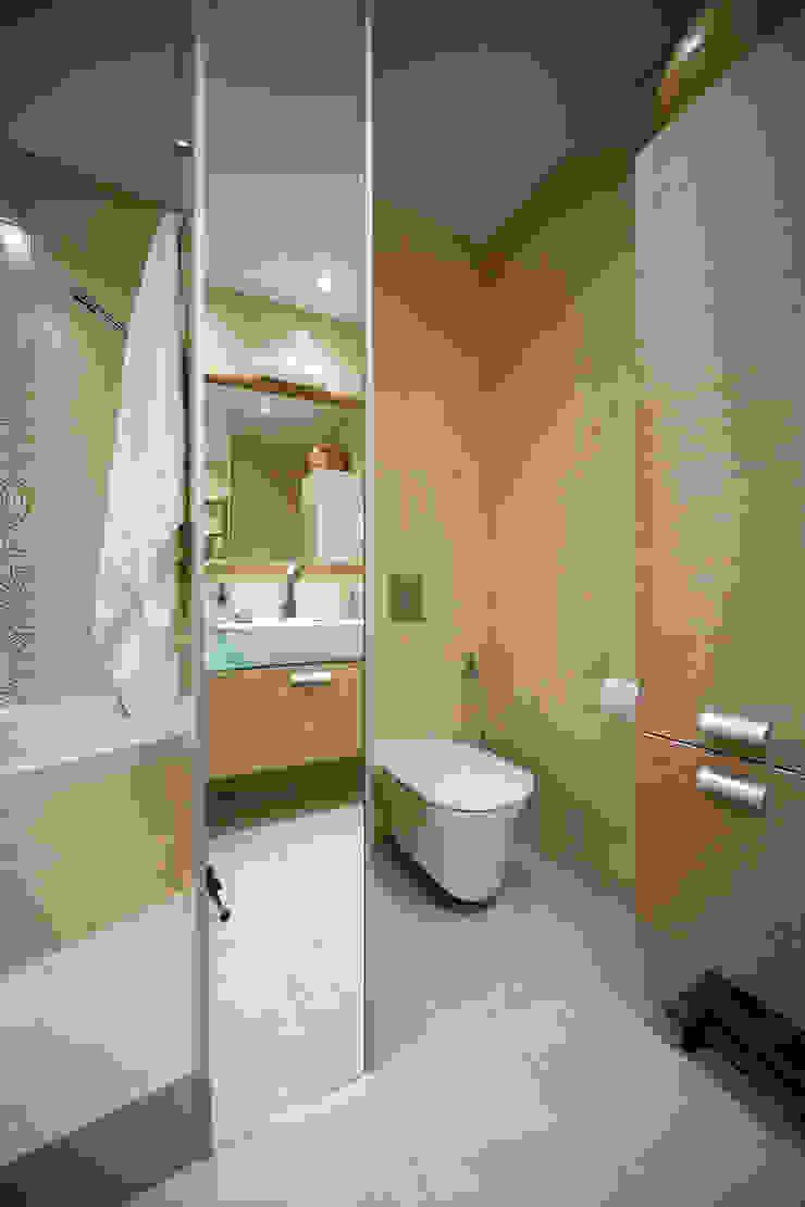 Ванная Ванная комната в эклектичном стиле от Бюро9 - Екатерина Ялалтынова Эклектичный