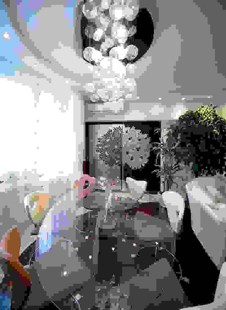 Гостиная Гостиные в эклектичном стиле от Бюро9 - Екатерина Ялалтынова Эклектичный