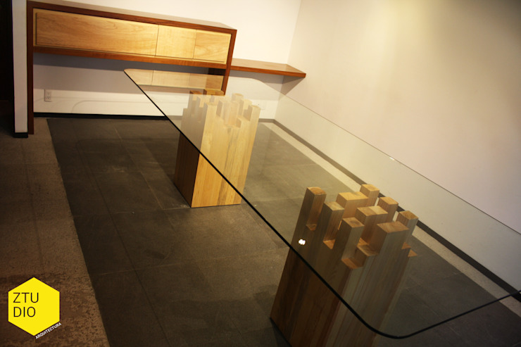 Sala de firmas Salones minimalistas de ZTUDIO-ARQUITECTURA Minimalista