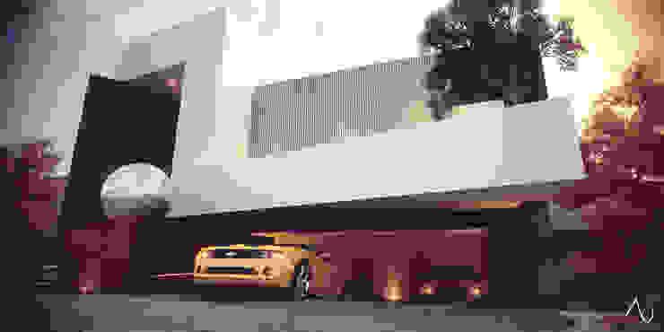 Vista Principal Casas de estilo minimalista de 21arquitectos Minimalista