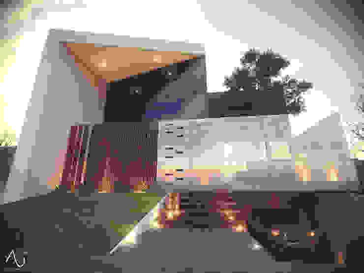 Vista Principal Casas minimalistas de 21arquitectos Minimalista