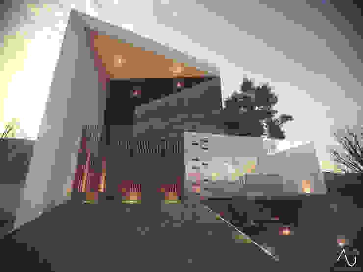 Vista Principal 2 Casas minimalistas de 21arquitectos Minimalista