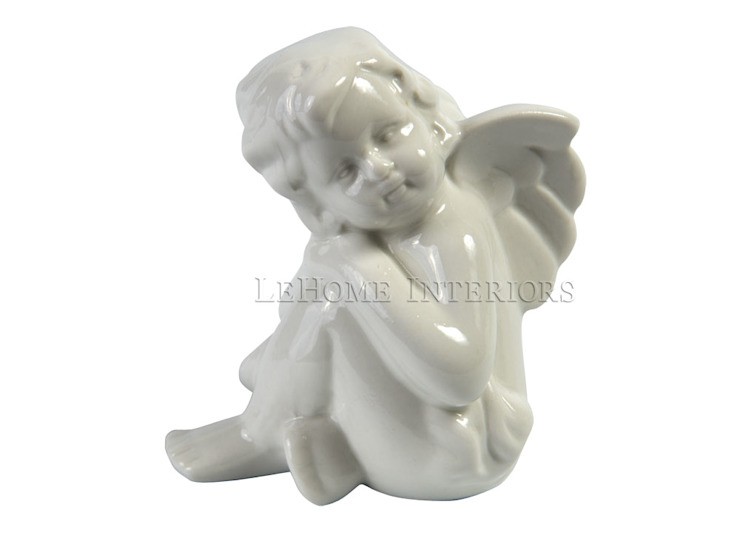 Ангелочки сидячие V858 от LeHome Interiors Классический Фарфор