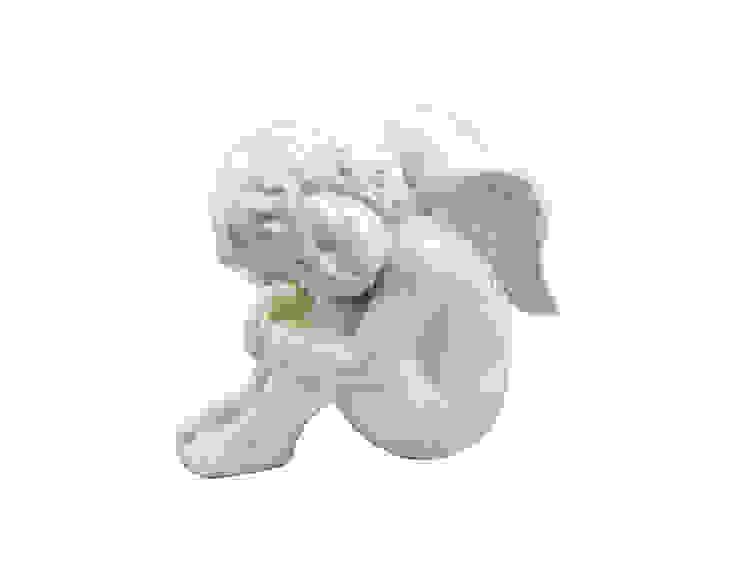 """Фигура """"Ангел"""" V1037 от LeHome Interiors Классический Фарфор"""