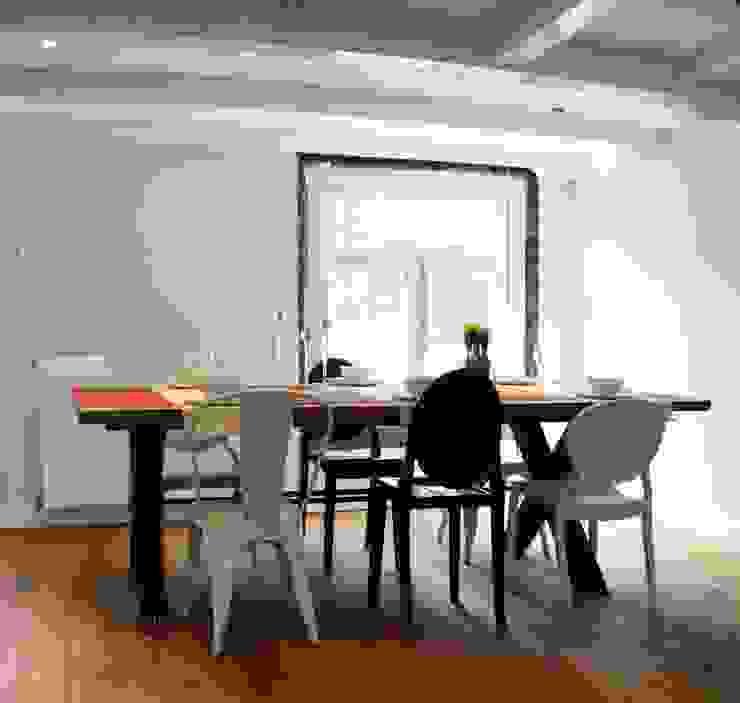 Estudi ramis Sala da pranzo minimalista