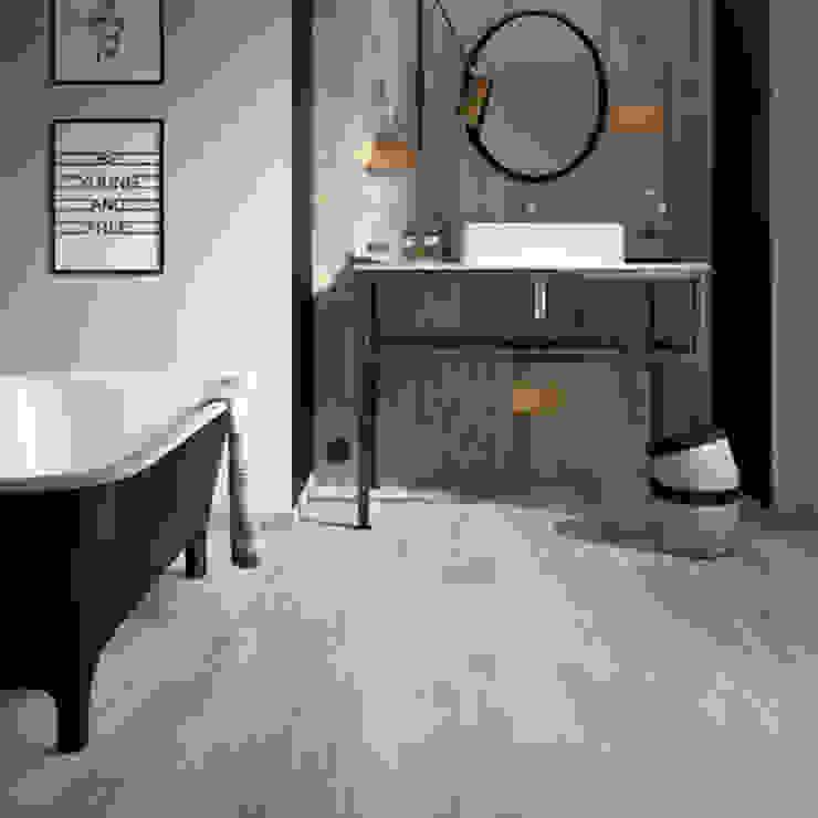Moderne badkamers van D'Tzalam - Diseño en Pisos Modern