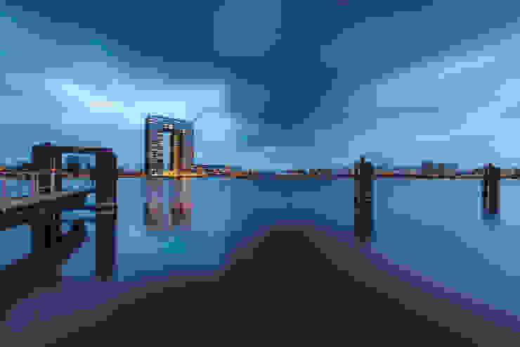 Tasmantoren Groningen Moderne huizen van WALarchitectenbureau Modern