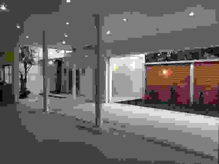 VILLA AUCH Salones modernos de HL Héctor Lucatero arquitectos Moderno