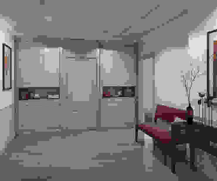 Apartment A Коридор, прихожая и лестница в модерн стиле от Bovkun design Модерн