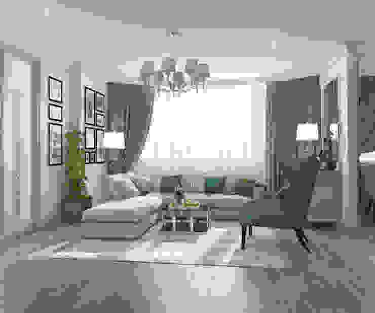 Apartment A Гостиная в стиле модерн от Bovkun design Модерн