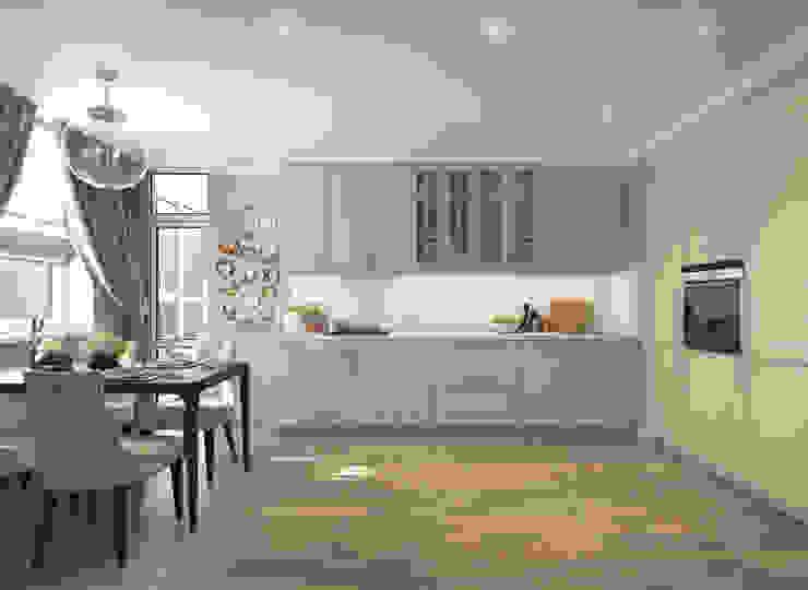 Apartment A Кухня в стиле модерн от Bovkun design Модерн