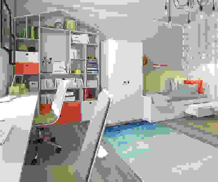Apartment A Детская комнатa в скандинавском стиле от Bovkun design Скандинавский