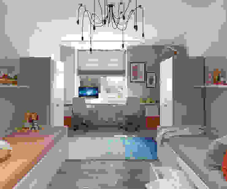 Apartment A Детская комната в стиле модерн от Bovkun design Модерн