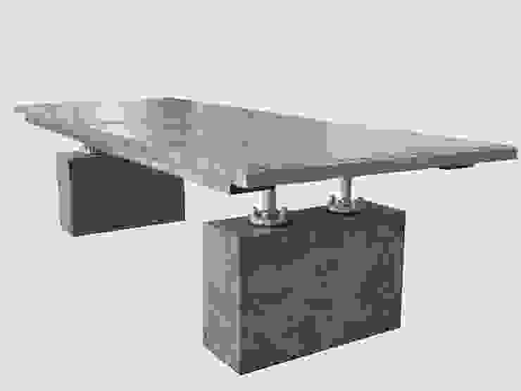 Handgemaakte tafel van rob schipper Industrieel Hout Hout