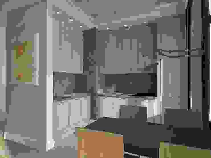Лофт Кухня в стиле лофт от Мастерская интерьеров Лофт