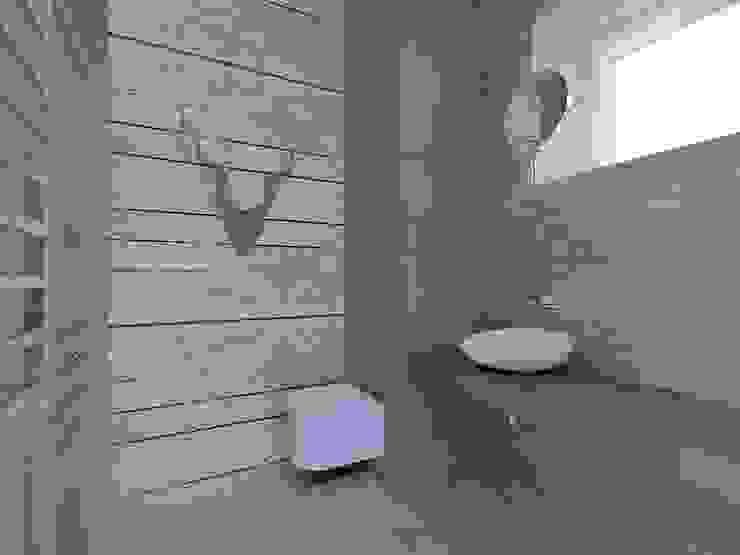 Лофт Ванная в стиле лофт от Мастерская интерьеров Лофт