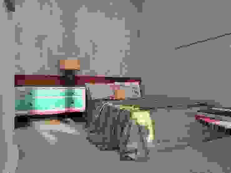 Лофт Спальня в стиле лофт от Мастерская интерьеров Лофт
