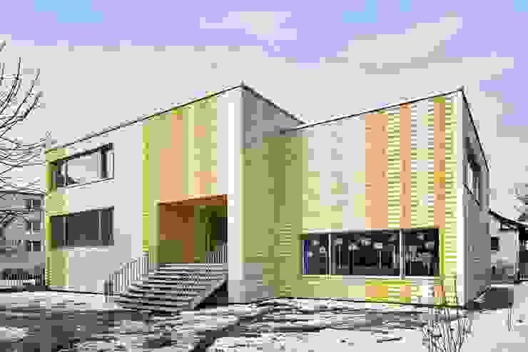 Sanierung Kindergarten Spittel in Affoltern am Albis Modern schools by illiz architektur Wien Zürich Modern