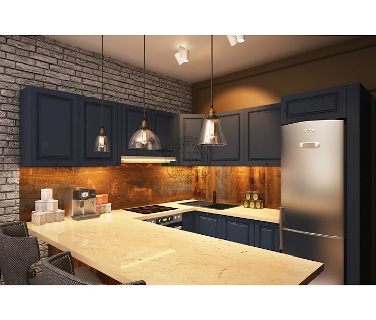 Industrial style kitchen by Home Emotions Industrial