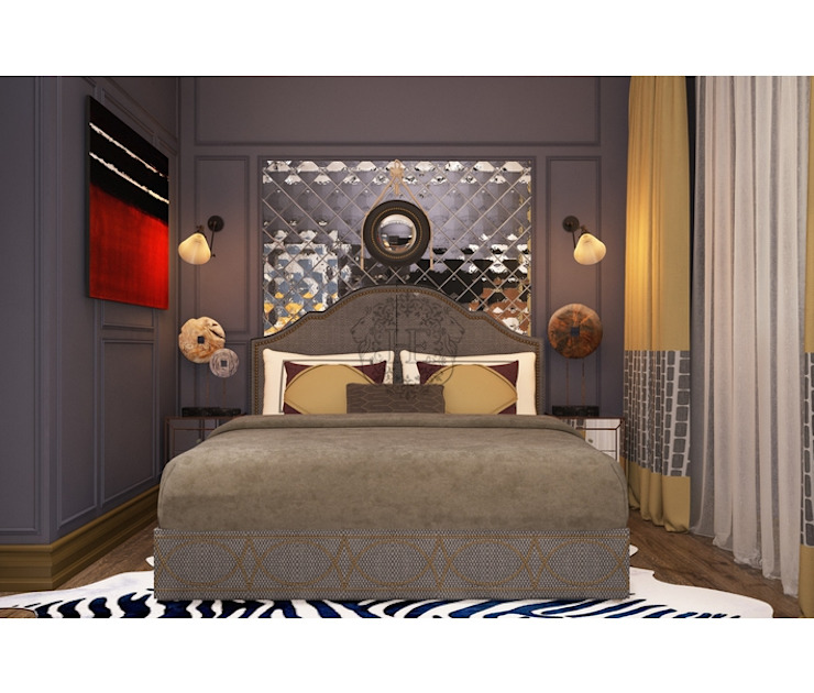 Home Emotions Industrial style bedroom