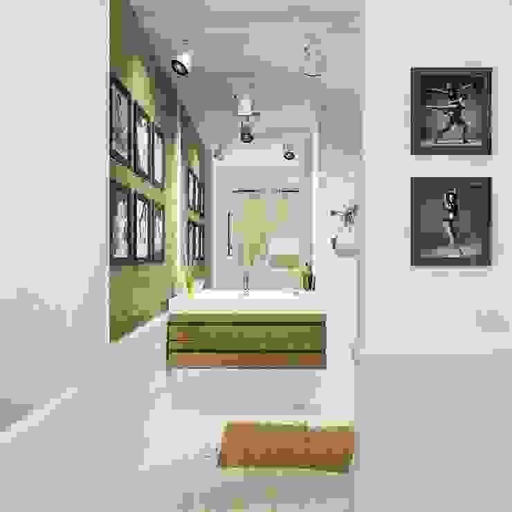 Cuartos de estilo ecléctico de The Аrt of interior from Olga Kalinina Ecléctico