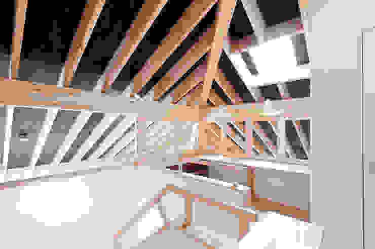 10*10_Haus ラスティックデザインの 書斎 の 有限会社 法澤建築デザイン事務所 ラスティック