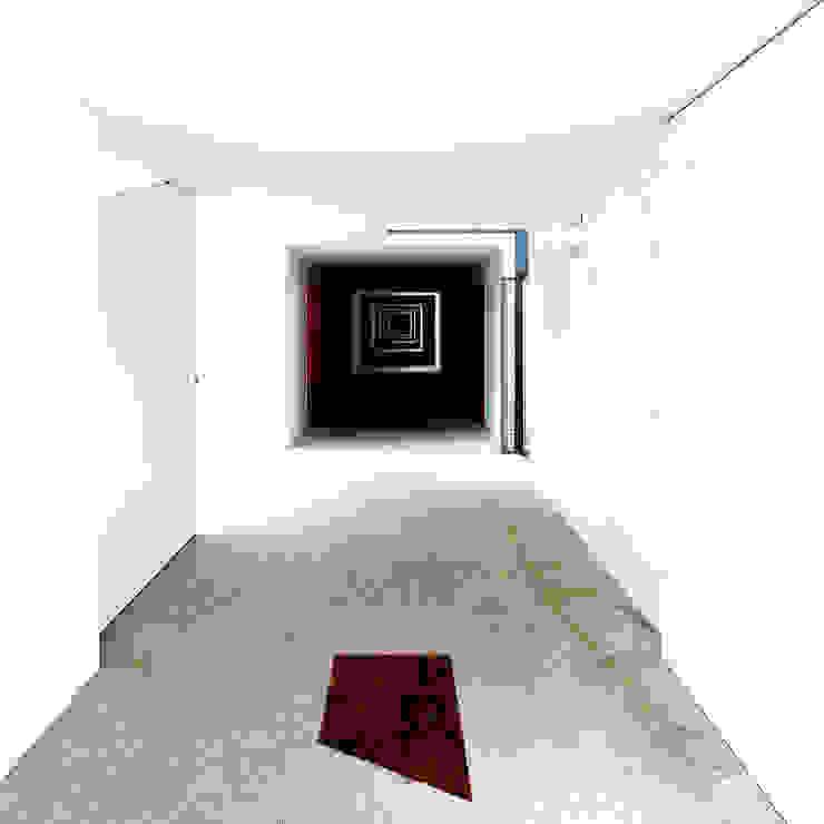 Casas em Serralves Corredores, halls e escadas minimalistas por MANUEL CORREIA FERNANDES, ARQUITECTO E ASSOCIADOS Minimalista