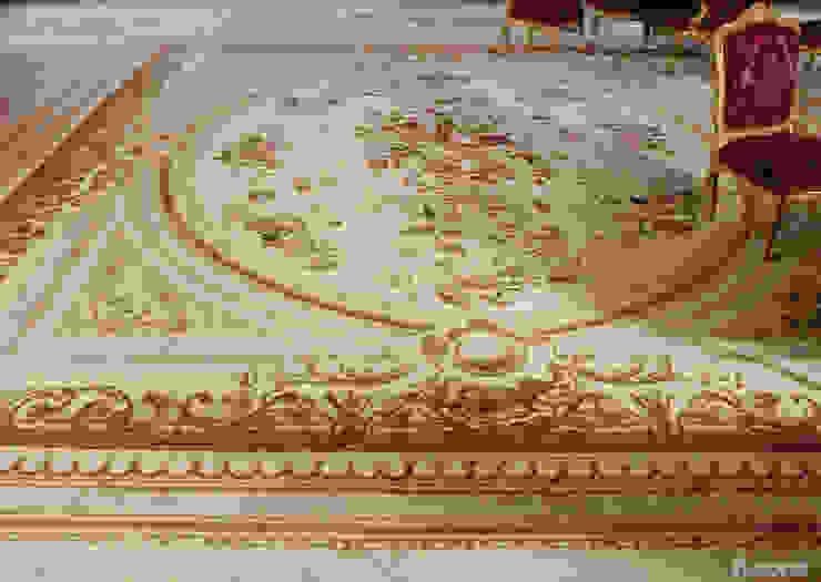 Salones clásicos de Leone edition Clásico Lana Naranja