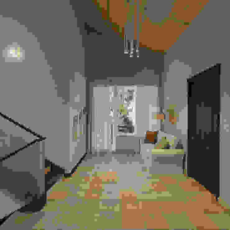 Частный дом в стиле эклектика от De-form