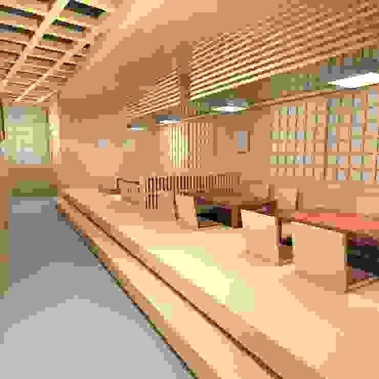 SATSUKI オリジナルスタイルの 玄関&廊下&階段 の 株式会社武村耕輔設計事務所 オリジナル 木 木目調