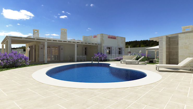 Piscinas  por De Vivo Home Design, Eclético