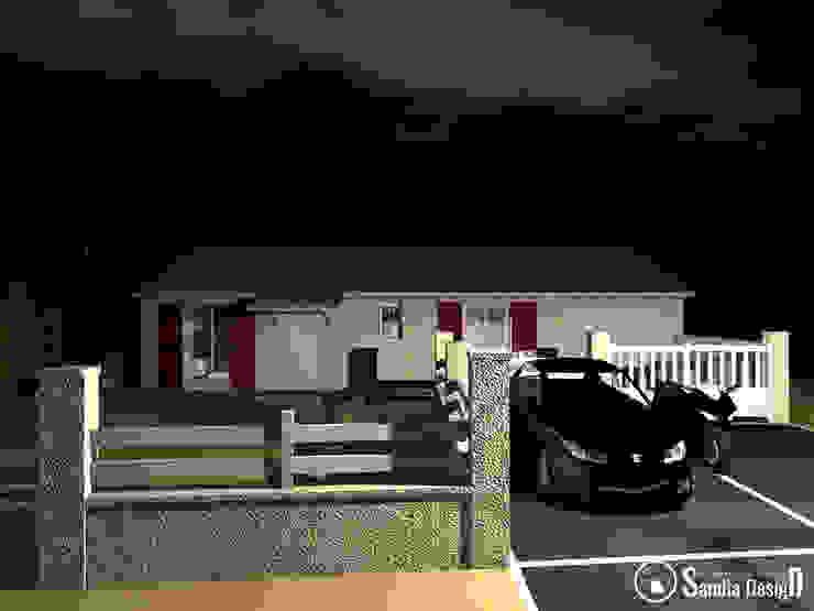 Le jardin à Saint Jean d'Illac Sandia Design Maisons modernes