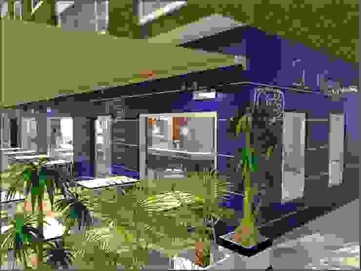 BS Ingeniería Modern living room Synthetic Blue