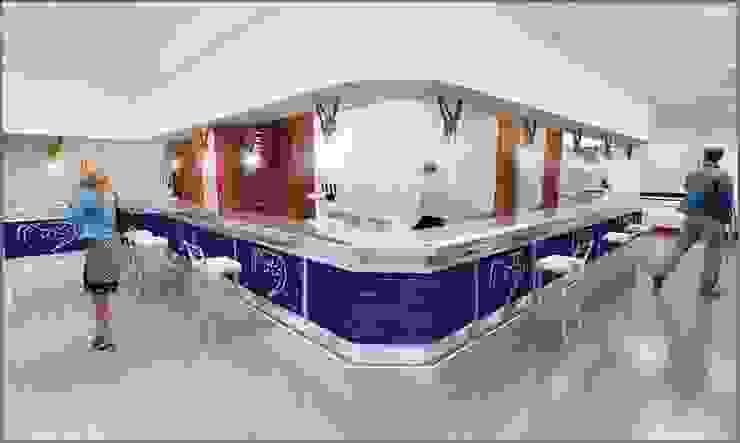 BS Ingeniería Modern living room Tiles Blue
