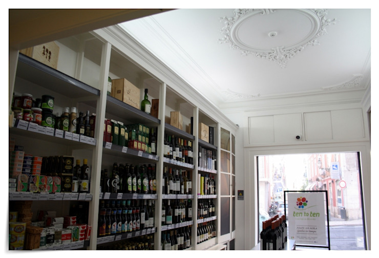 Supermercado tentoten Chiado - Lisboa por land2build