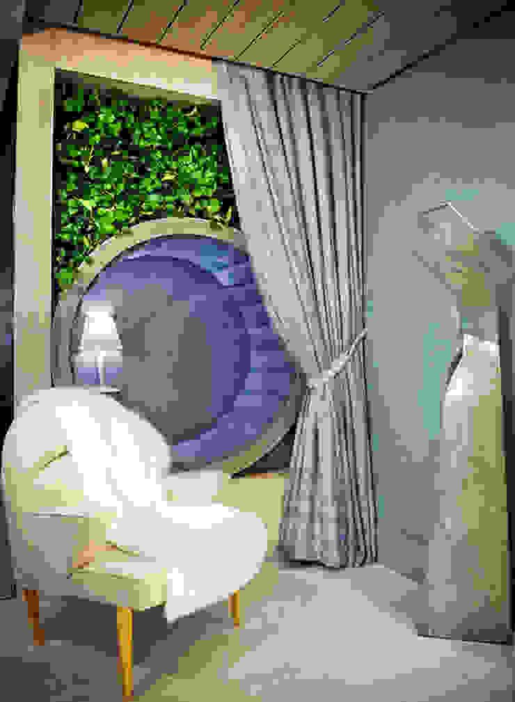 The intimate living for us – Ambiente CASA COR 2015 Salas de estar modernas por Spengler Decor Moderno
