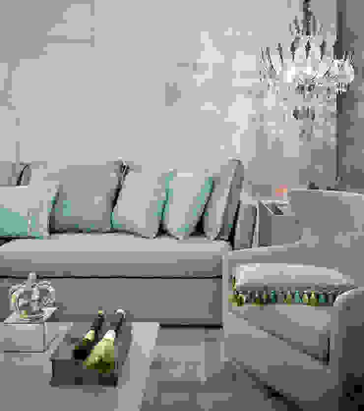 The intimate living for us - Ambiente CASA COR 2015 Salas de estar modernas por Spengler Decor Moderno