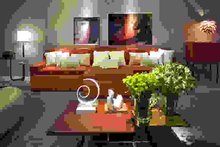 Home Theater - Ambiente CASA COR SC 2015 Salas multimídia modernas por Spengler Decor Moderno