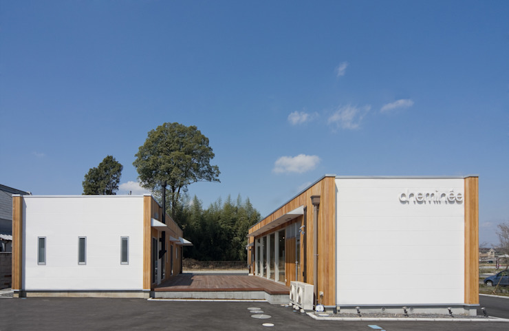 Scandinavian style houses by 株式会社深田建築デザイン研究所 Scandinavian
