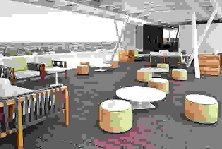Roof Garden de diesco Moderno Compuestos de madera y plástico
