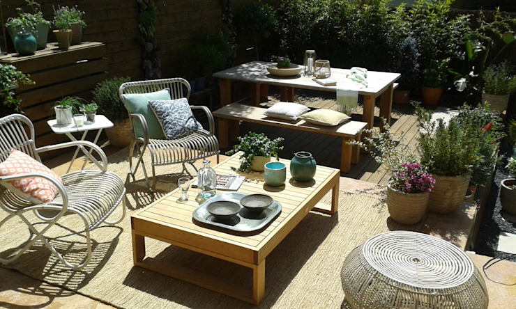 Jardin casa adosada de Naturalgreen Jardiners Moderno