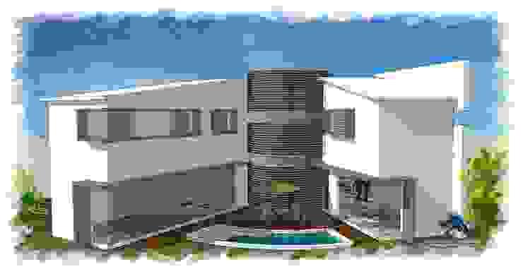 Amenidades de villarreal arquitectos y urbanistas asociados sc Moderno