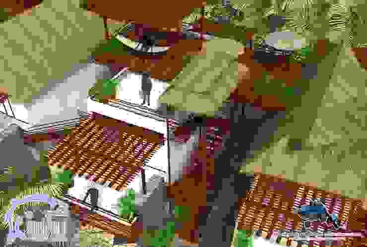 ROOF GARDEN:  de estilo tropical por villarreal arquitectos y urbanistas asociados sc, Tropical